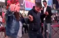 Hülya Polat New York'un göbeğinde horon tepti