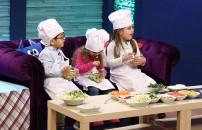 Minik aşçılar iş başında