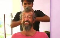 Yunus ve Mehmet'in masaj seansı!