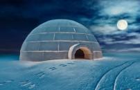 Eskimo evleri nasıl yapılır?