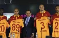 Galatasaray yeni transferleriyle şov yaptı! 4 imza birden...