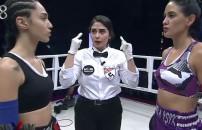 Sahra Işık - Aycan Demirci mücadelesi