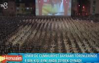 İzmir'de coşkulu kutlama! 4 bin kişi zeybek oynadı