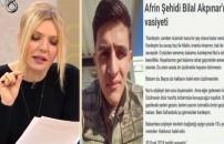 Afrin şehidi Astsubay Ömer Bilal Akpınar'ın ağlatan vasiyeti