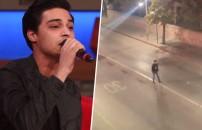 Sokakta söylediği şarkıyla sosyal medyayı sallamıştı! Peki şarkı kimin içindi?