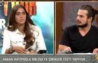 Melisa'dan 'Şirinler Testi'ne birbirinden ilginç cevaplar