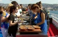 Acun Medya ve TV8 çalışanları menülerin tadımını yaptı