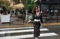 Ünlü oyuncu Nesrin Cavadzade trafiği birbirine kattı!