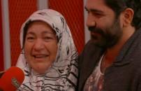 Annesi kırmızı odada gözyaşlarını tutamadı