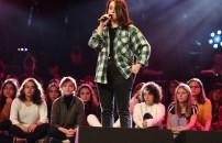 O Ses Türkiye 8 Aralık 2019 bölümünde jüri, Fatma Özge Şenol'dan ikinci performansı istedi