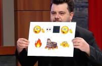 Eser Yenen Show'un 9 Ocak 2020 yayınında 'Emojilerle Anlat' bölümünde kahkaha tufanı