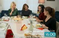 Yemekteyiz'in 7 Şubat günü yayınlanacak yeni bölümünün tanıtımı yayınlandı