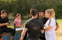 Survivor 2020 - 16 Şubat bölümünde gönüllüler takımından Ardahan ve Burak arasında gerilim! Zor ayırdılar