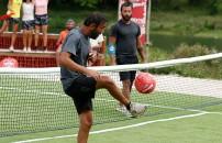 1 Nisan 2020 Survivor 2020 Ünlüler Gönüllüler'de Ardahan-Yasin/Sercan-Ersin ayak tenisi maçını kim kazandı?