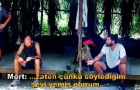 Survior Ünlüler Gönüllüler 1 Nisan 2020 | Sercan Yıldırım ve Mert Öcal arasında büyük tartışma!