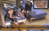 TV'de YOK | Cemal Can'ın ayak parmağı Yasin ve Evrim'i hayrete düşürdü! Uzun uzun incelediler