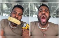 Jason Derulo öyle bir şey denedi ki... Bütün dişleri parçalandı!