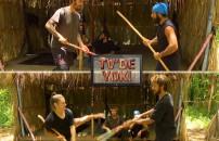 TV'de YOK | Survivor'da eğlenceli anlar! Barış Yasin'e, Nisa Cemal Can'a karşı...