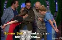 MasterChef Türkiye'nin 27 Ekim bölümünde dokunulmazlık oyunu öncesi şeflerden büyük sürpriz