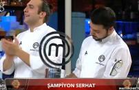 MasterChef Türkiye'nin 3 Ocak bölümünde şampiyon olan Serhat'tan ilk değerlendirme