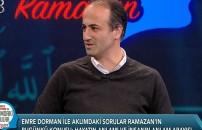 Emre Dorman ile Aklımdaki Sorular - Ramazan | 27 Nisan 2021