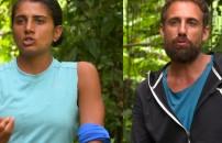 TV'DE YOK   Survivor Merve, Dora ile İsmail gerilimine son noktayı koydu!