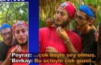 Survivor Türkiye 2021 - 15 Haziran - 120. Bölüm   Poyraz, Berkay ve Ayşe iletişim ödülünün tadını çıkardı