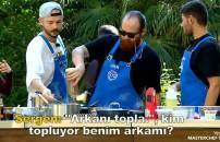 MasterChef Türkiye 23 Eylül 2021   Sergen ve Eren arasında tartışma