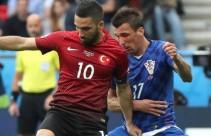 Hırvatistan: 1 - Türkiye: 1 l Maç Özeti