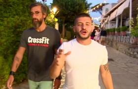 Yunus ve Mehmet, Capri'nin en pahalı sokaklarını gezdi!