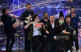 Ferhat Göçer ve orkestrası herkesi coşturdu!
