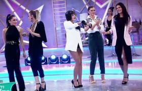 Yarışmacılardan dans şov