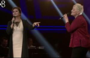 Sibel Can ve Hande düetinin finali olay oldu!