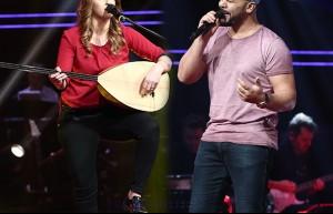 Omar Sad ve Esra Yücel'in bire bir eşleşmesi