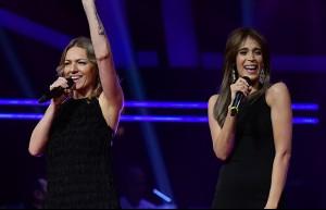 Yelena ve Karıma'nın düellosu 'Sway'