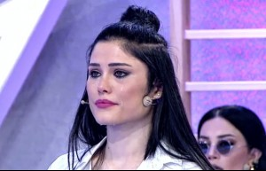 Jürinin yorumları Müşerref Aydoğdu'yu ağlattı
