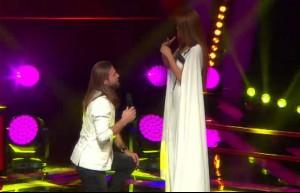 O Ses Türkiye'de bir ilk! Sahnede evlilik teklifi...