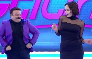 Bülent Serttaş ile Bahar Candan birlikte sahneye çıktı