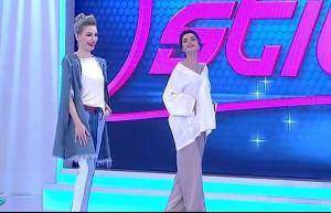 145. bölüm Aleyna Eroğlu podyumda