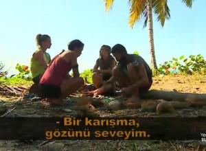 Adem ve Sabriye arasında coconut gerginliği...