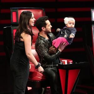 Yarışmacının yeğeni jürinin ilgi odağı oldu!