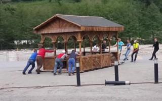 Karadeniz usülü kamelya taşıma