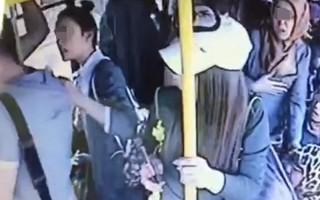 Kadınlar halk otobüsündeki tacizciyi linç etti