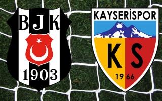 Beşiktaş - Kayserispor (((CANLI ANLATIM)))