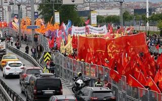 Bakırköy'de 1 Mayıs kutlaması