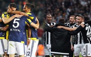 Beşiktaş ile Fenerbahçe'nin kalan maçları...