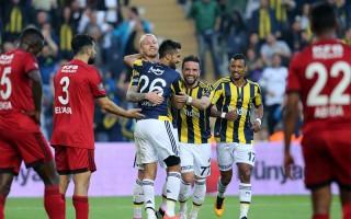 Fenerbahçe - Gaziantepspor maçından kareler...