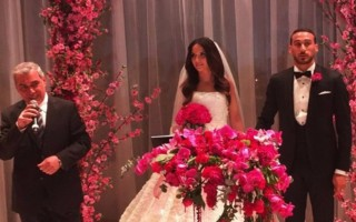 Beşiktaşlı futbolcu Cenk Tosun evlendi