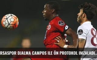 Bursaspor Djalma Campos ile ön protokol imzaladı