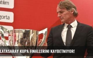 Galatasaray kupa finallerini kaybetmiyor!